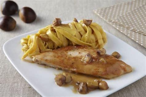cuisiner escalopes de dinde recette de escalope de dinde à la crème de marrons facile et rapide
