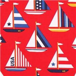 Was Bedeutet Maritim : roter timeless treasures segel schiff maritim stoff usa maritime stoffe stoffe shop modes4u ~ Markanthonyermac.com Haus und Dekorationen