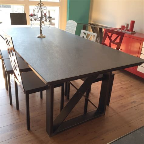 table salle a manger plateau ceramique table salle 224 manger design c 233 ramique table ceramique made in