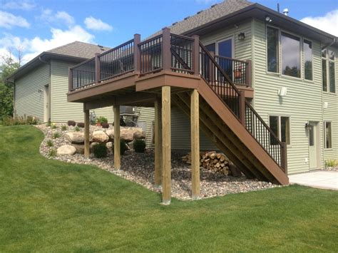 28 two story deck two story deck pic fly building