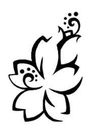 hawaiian tribal flower tattoos for women - Google Search | Tribal flower tattoos, Hawaiian