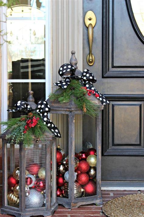 Weihnachtsdeko Für Den Garten Basteln by Den Hauseingang Weihnachtlich Dekorieren 18 Ideen F 252 R