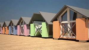 Pop Up Home : pop up houses from ten fold engineering assemble themselves in eight minutes ~ Melissatoandfro.com Idées de Décoration