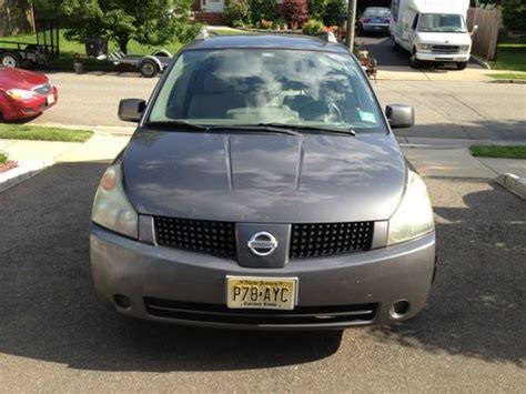 nissan mini car purchase used nissan quest mini van dvd no reserve clean