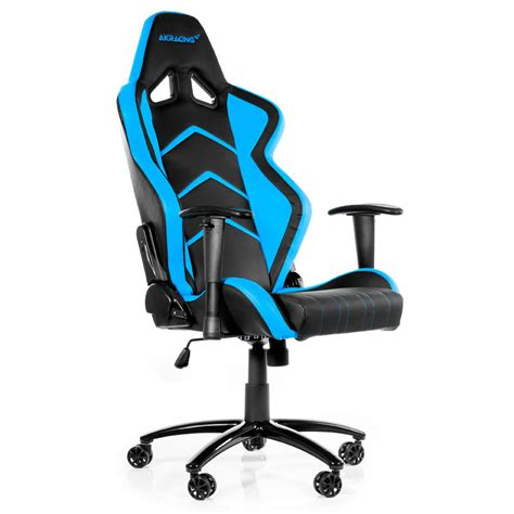 chaise de bureau gaming akracing player gaming chair bleu siège pc akracing
