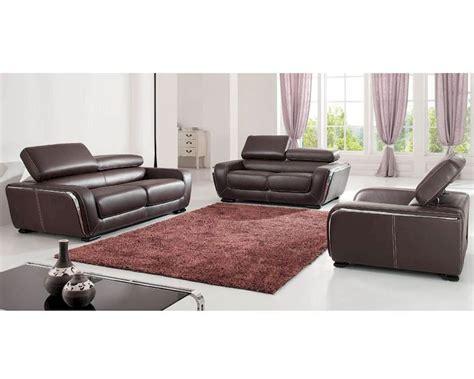 european leather sofa set european design leather sofa set in brown finish 33ss111