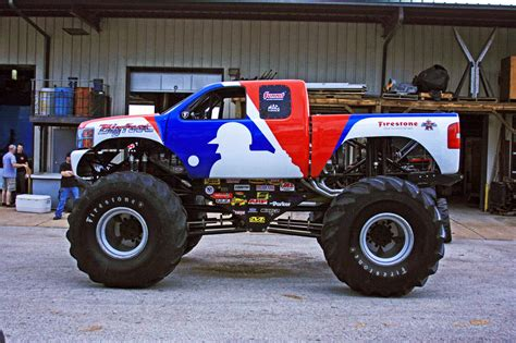 video of monster trucks bigfoot monster truck defects to chevy after 35 years