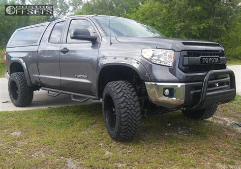 toyota tundra fuel avenger readylift suspension lift