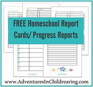 homeschool report card template middle school best With homeschool id card template