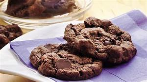 Double-Chocolate Chip Cookies Recipe - BettyCrocker com