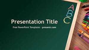 Free Spelling Powerpoint Template