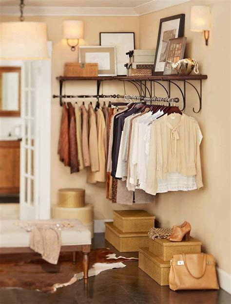 Solutions For Rooms Without Closets by Well Organized Style Closets Beautiful
