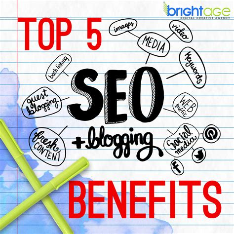 Blogging And Seo by Top Five Seo Benefits Of Blogging