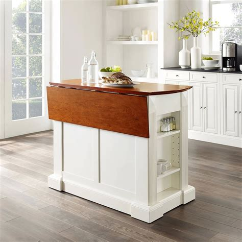 drop leaf breakfast bar top kitchen island  target