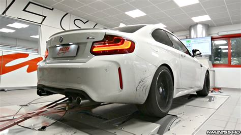 bmw m2 f87 stage 1 doing some dyno pulls results youtube