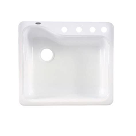 american standard silhouette kitchen sink shop american standard silhouette 25 in x 22 in white heat
