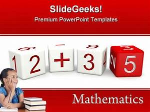 mathematics education powerpoint template 0610 With powerpoint templates mathematics free download