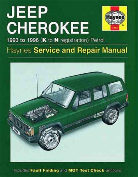 vehicle repair manual 1993 jeep cherokee electronic toll collection jeep cherokee petrol 1993 1996 haynes service repair manual sagin workshop car manuals repair