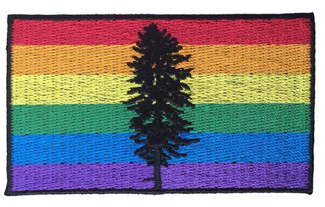 cascadia pride flag ptfc patch patrol