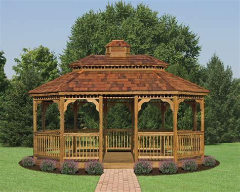 backyard wooden gazebo outdoor furniture design and ideas