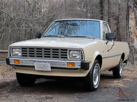 1980 Plymouth Arrow Pickup Mitsubishi Forte One Owner