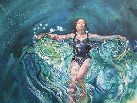gilly marklew cruciform  water artists
