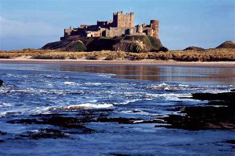 bamburgh castle advertisement countryfilecom