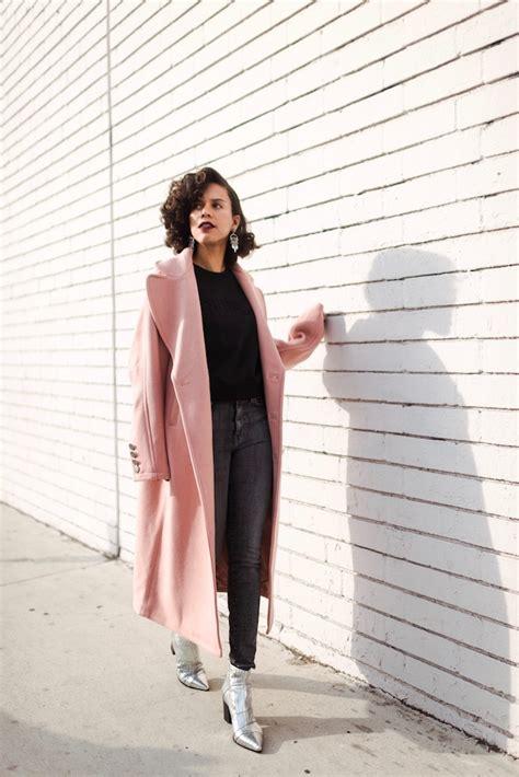 big pink coat  guess ootd style  grasie
