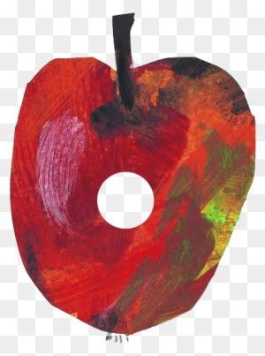 eric carle  hungry caterpillar apple