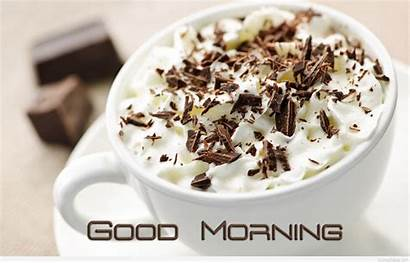 Morning Wallpapers Coffee Cup Messages Quotes Chocolate