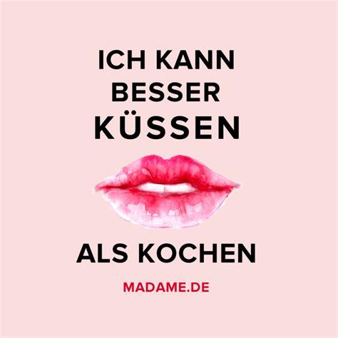 Spruch über's Küssen  Bilder Madamede