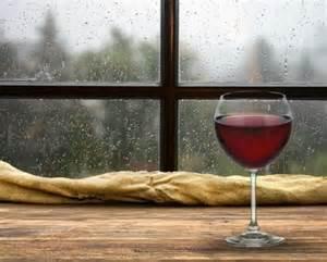 rainy day and wine pairings the california wine