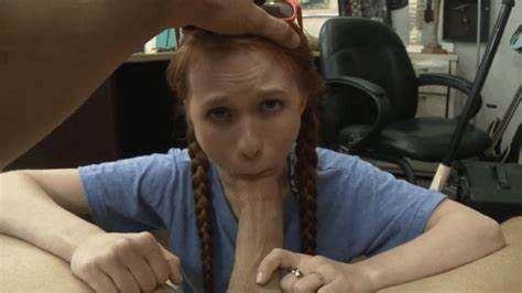 Innocent  Haired Head Pounded Taxi Scamed