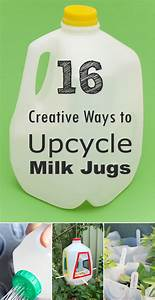 16 Creative Ways to Reuse and Upcycle Milk Jugs