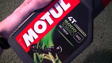 Motul 5000 4t 10w40 Hc-tech Semi Synthetic Motorcycle