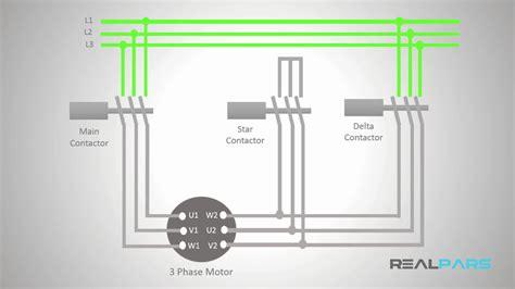 star delta starter plc program and wiring part 5