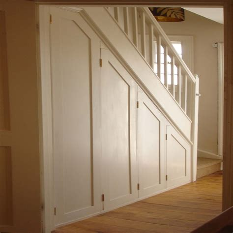 Understairs Cupboard Storage by Cupboard The Stairs With Concertina Doors That Open