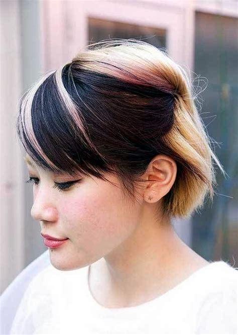 Two Tone Hair Color Ideas by 45 Graceful Two Tone Hair Color Ideas For Various Hairstyles
