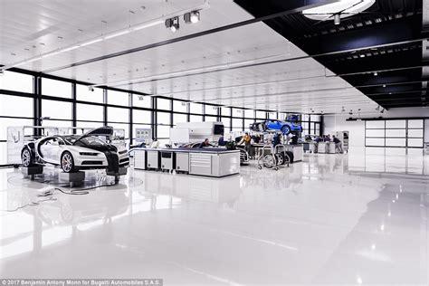 Bugatti Factory Location a tour of bugatti s chiron factory where 163 2m cars are made