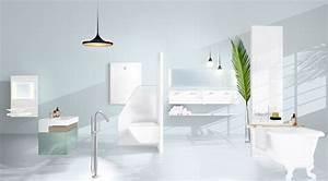Papier Peint Pour Salle De Bain : du papier peint dans la salle de bain devisual ~ Dailycaller-alerts.com Idées de Décoration