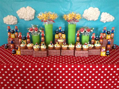 super mario brothers birthday party ideas photo