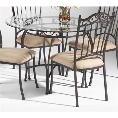 wrought iron kitchen chairs fetching black color wrought iron table set featuring for