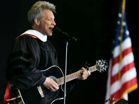 Watch Jon Bon Jovi Performs Song For Rutgers Students