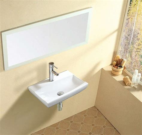 new design rectangle counter top basin sink unit ceramic