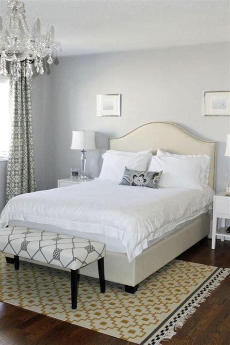silver gray bedroom paint design ideas
