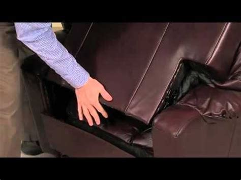 how to remove back of recliner sofa how to remove the back from a la z boy sofa doovi
