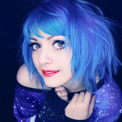 The 25 Best Bright Blue Hair Ideas On Pinterest
