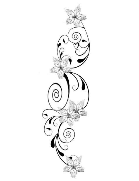 tattoos handgelenk vorlagen kostenlos blumen mit schn 246 rkel kombiniert tatoo blumen schn 246 rkel und blumen