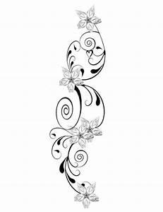 Rahmen Vorlagen Schnörkel : blumen tattoo mit schn rkel kombiniert tatoo tattoo vorlagen tattoo ideen und blumen tattoo ~ Eleganceandgraceweddings.com Haus und Dekorationen