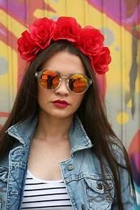 Love Wins Rainbow Flower Crown Headband Music Festival Bi